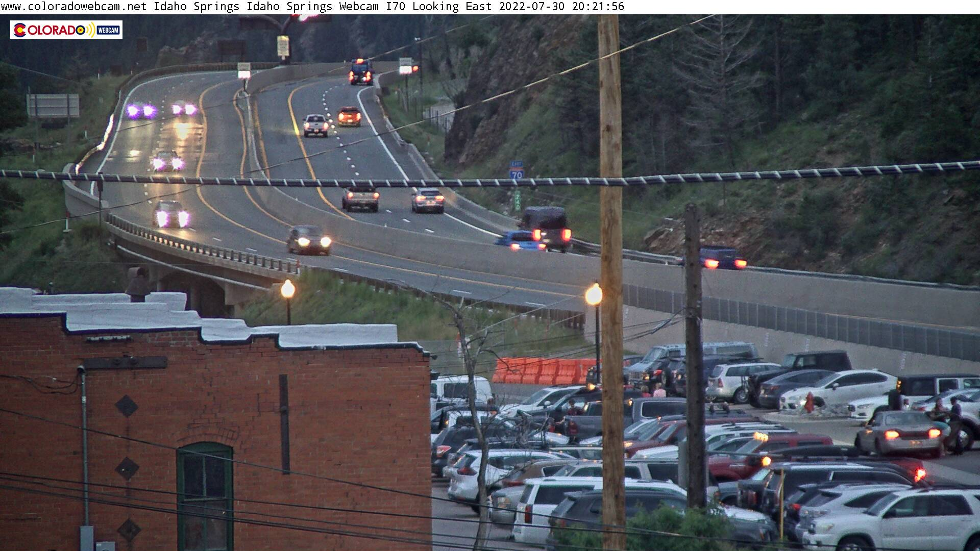 Idaho Springs Webcam Clear Creek I70 City Hall | ColoradoWebCam Net
